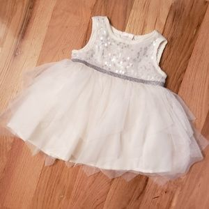 Children's Place Sequin Top Tulle Tutu Dress